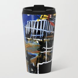 Jean-Michel Basquiat - Head 1981 Travel Mug