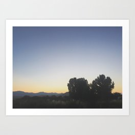 Golden Horizon Art Print