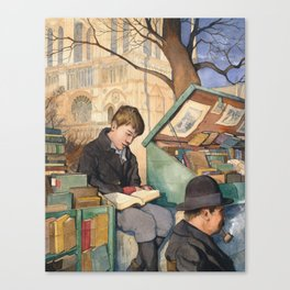 The Bookseller's Son Canvas Print