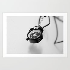 Time is a Slipping Art Print