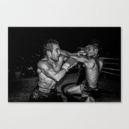 This is Muay Thai. Canvas Print