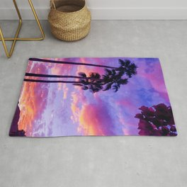 PS Sunset and Bouganvilla Rug