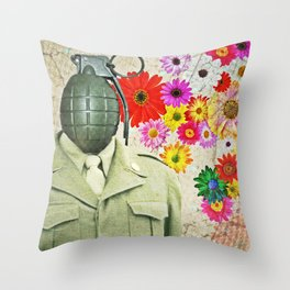 It Sinks In Throw Pillow