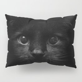 Black Cat 01 Pillow Sham