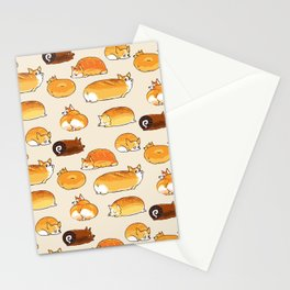 Bread Corgis Stationery Cards