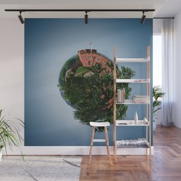 Tiny Planet 4 - Sky Castles Wall Mural