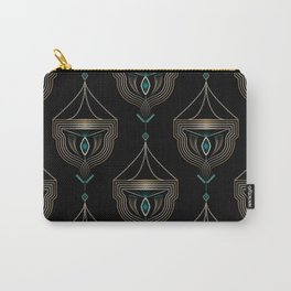 "Art Deco . ""Gold pendants "". Carry-All Pouch"