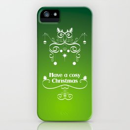 Christmas decorations 2 iPhone Case