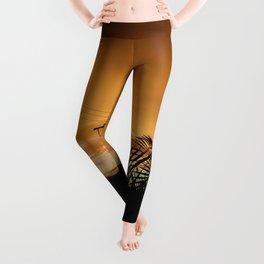 Golden Peace Leggings