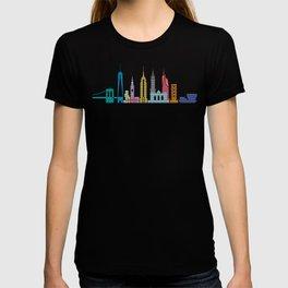 New York Skyline Black T-shirt
