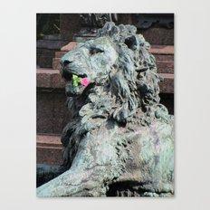 Lion in Vienna Canvas Print