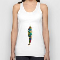 narwhal Tank Tops featuring Narwhal by Sircasm