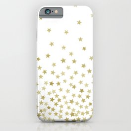 STARS GOLD iPhone Case