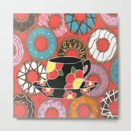 Delectable Donuts Metal Print