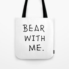 Bear with me 2 Tote Bag