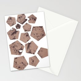 Pentagons of May 13 Stationery Cards