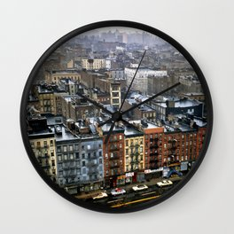 Essex Street, NYC, 1981 Wall Clock