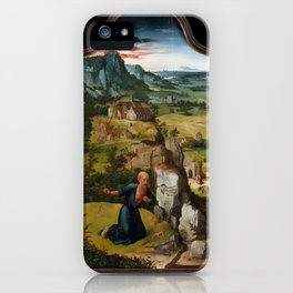 The Penitence of Saint Jerome,ca. 1512–15 iPhone Case