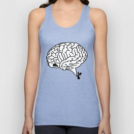 Brain Labyrinth Unisex Tank Top