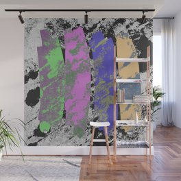 All 4 One - Abstract, textured artwork Wall Mural
