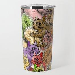 Squirrels Parade Travel Mug