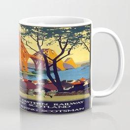 Vintage poster - Forth Bridge Coffee Mug