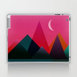 moon light geometric abstract landscape Laptop & iPad Skin
