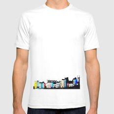 Clifton Colour MEDIUM Mens Fitted Tee White