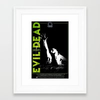 evil dead Framed Art Prints featuring Evil Dead by JAGraphic