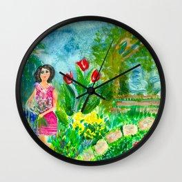 Zsa Zsa Gazebo Wall Clock