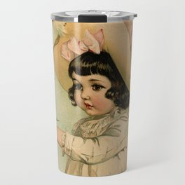 French Girl Maud Humphrey Travel Mug