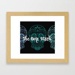 The Bone Witch Framed Art Print