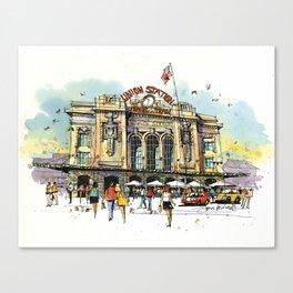 Denver's Union Station Canvas Print