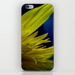 Flames in Blue iPhone Skin