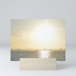 Let's Sail From this City Mini Art Print