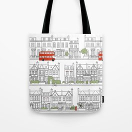 London houses Tote Bag
