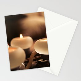 Advent Candles Detail Stationery Cards