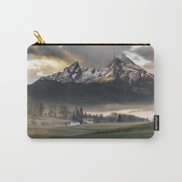 Sunrise in the german alps Carry-All Pouch