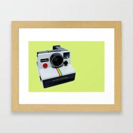 Polaroid OneStep Camera Framed Art Print