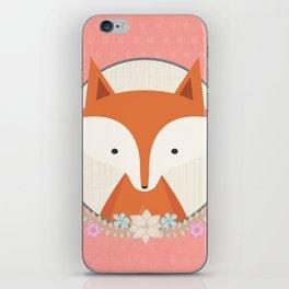 Fox in a frame iPhone Skin