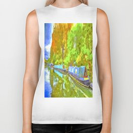Little Venice London Pop Art Biker Tank