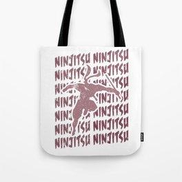 Ninjutsu Repeat Ninja Martial Arts Training Tote Bag