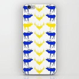 Graphic Swedish Elk Flag II iPhone Skin
