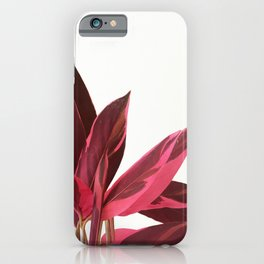Red Leaves II iPhone Case