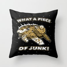 What a Piece of Junk! Throw Pillow