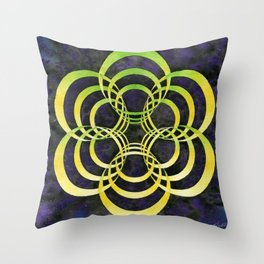Portalattice Throw Pillow