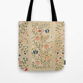Uzbekistan Suzani Nim Embroidery Print Tote Bag