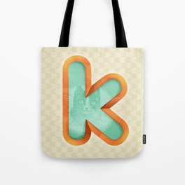Kitty K Tote Bag