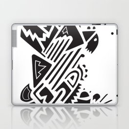 Wild and Free Black Graphic Laptop & iPad Skin