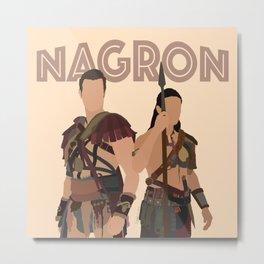 Nagron (Spartacus) Metal Print